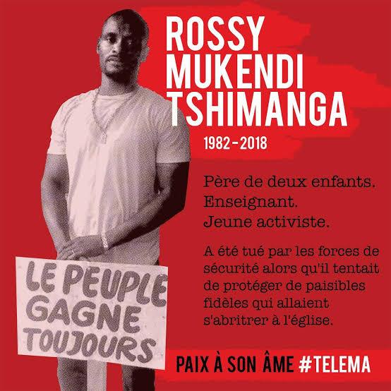 Procès Rossy Mukendi: Le tribunal a perdu le dossier et l'audience est renvoyée au 22 juin prochain