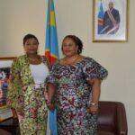 Culture: L'artiste Barbara Kanam plaide pour l'accès gratuit des œuvres musicales dans les Médias auprès de la Ministre Catherine Kathungu Furaha